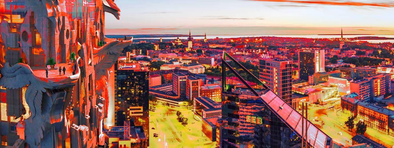 Sinise Äratuse Tallinna ettekandeõhtu