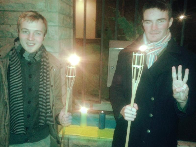 EKRE noored avaldasid toetust Ukraina protestijatele