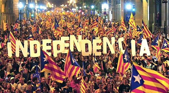 Sinine Äratus toetab Kataloonia iseseisvust