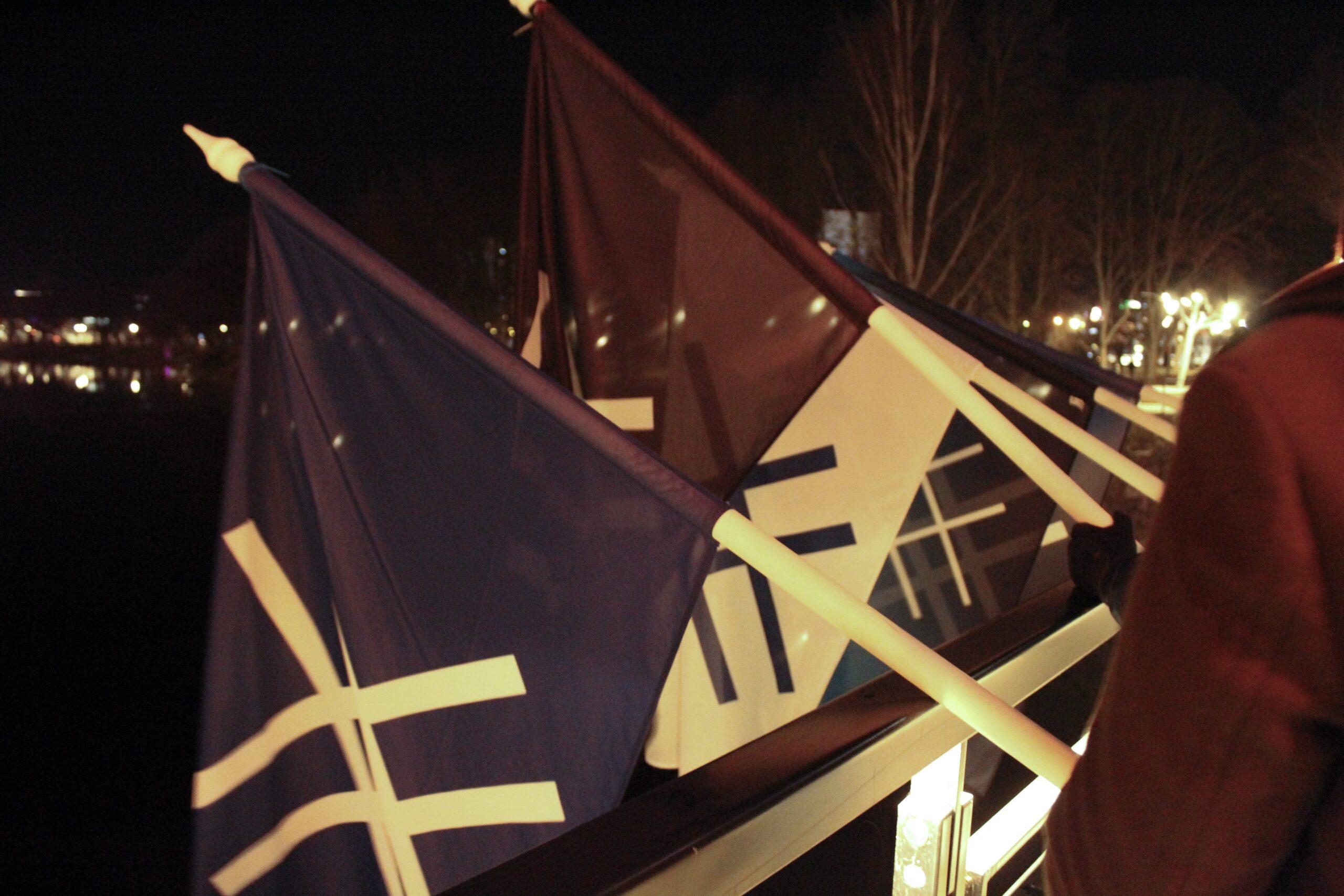 Sinine Äratus korraldas Tartus Kaarsillal 7. sünnipäeva