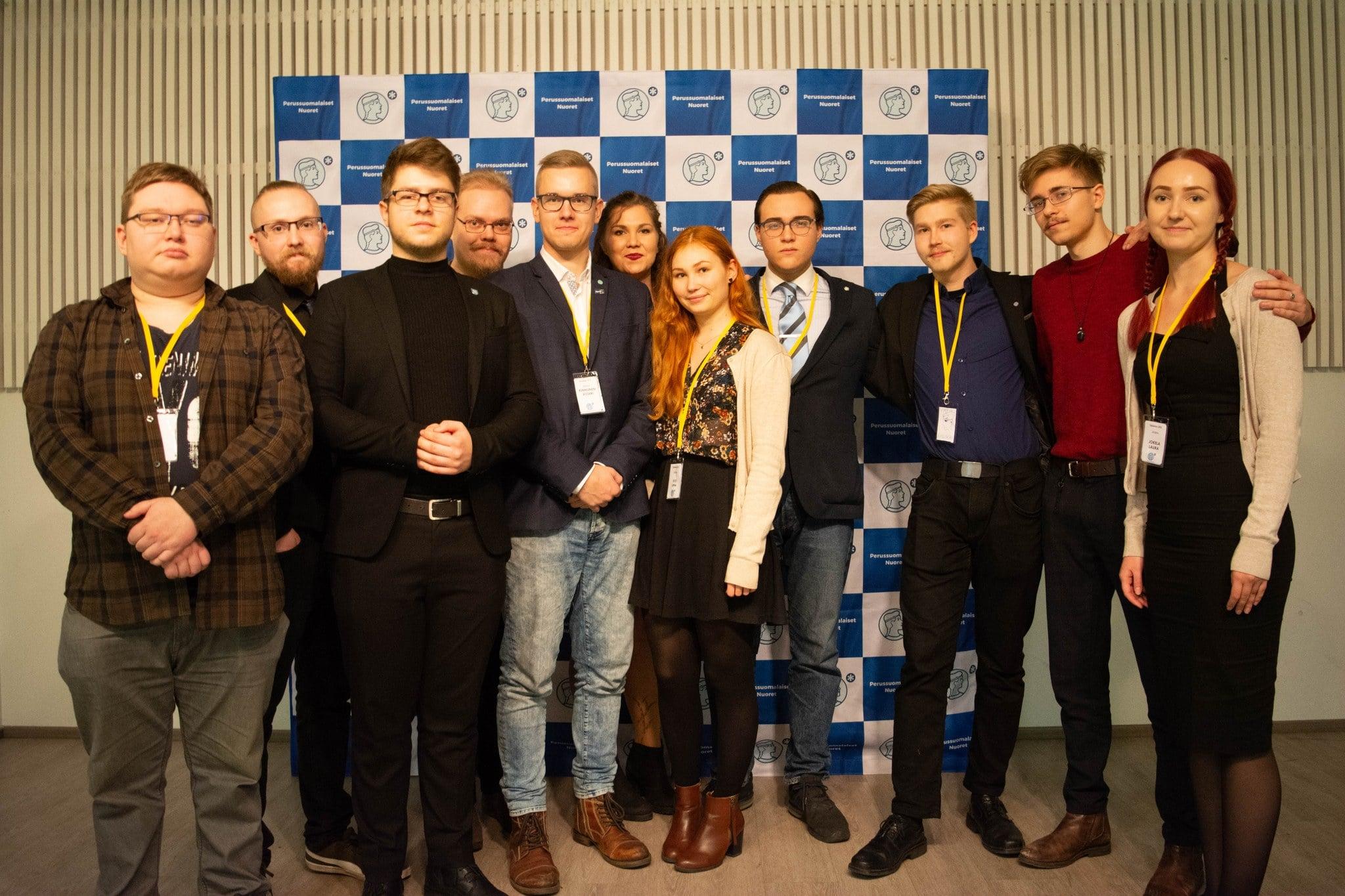 Sinine Äratus käis Soomes Noorte Põlissoomlaste üldkoosolekul